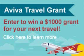 Aviva Travel Grant