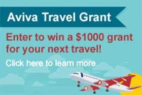 Aviva Travel Grant